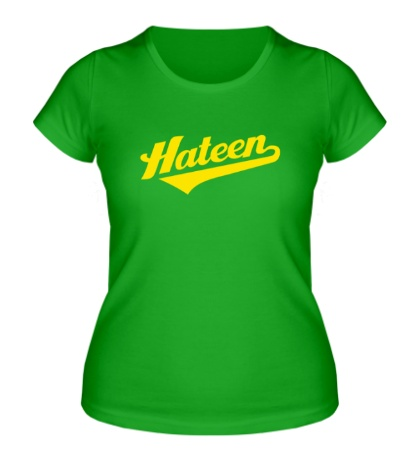 Женская футболка Hateen Rock