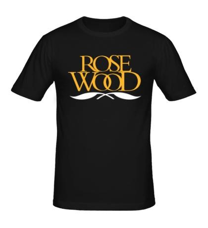 Мужская футболка Rose Wood