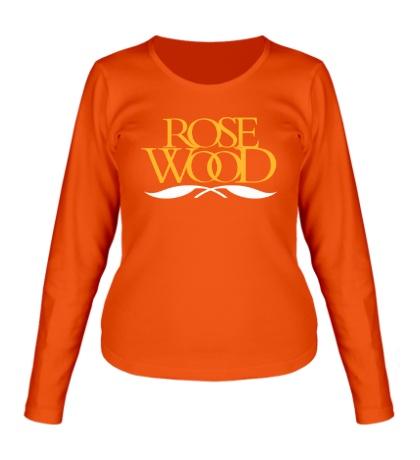 Женский лонгслив Rose Wood