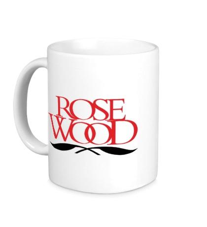 Керамическая кружка Rose Wood