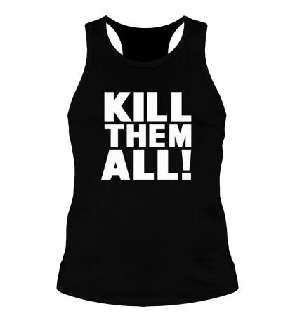 Мужская борцовка Kill them All