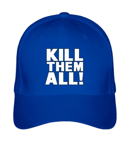 Бейсболка Kill them All