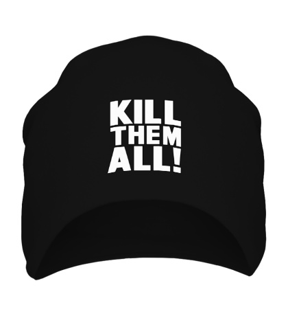 Шапка Kill them All