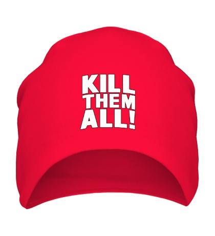 Шапка Kill them All