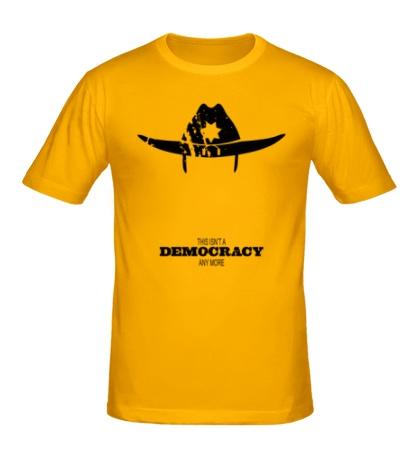 Мужская футболка Democracy Sheriff