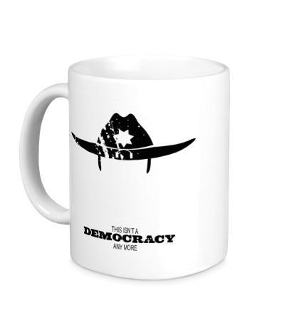 Керамическая кружка Democracy Sheriff
