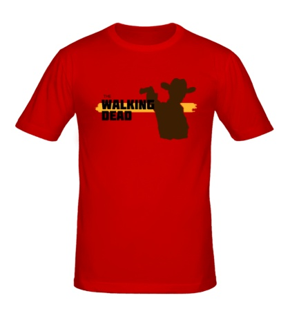 Мужская футболка Walking Dead: Sheriff