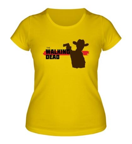 Женская футболка Walking Dead: Sheriff