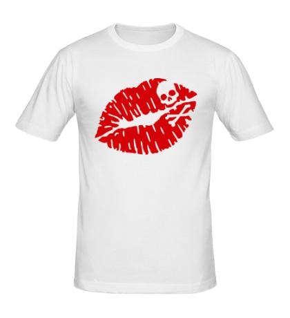Мужская футболка Смертельный поцелуй