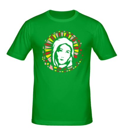 Мужская футболка Дева Мария