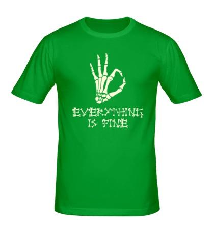 Мужская футболка Everything is fine