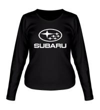Женский лонгслив Subaru