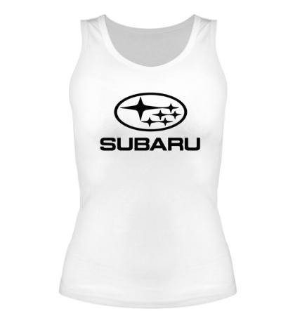 Женская майка Subaru