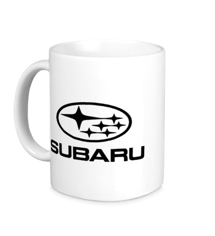 Керамическая кружка Subaru
