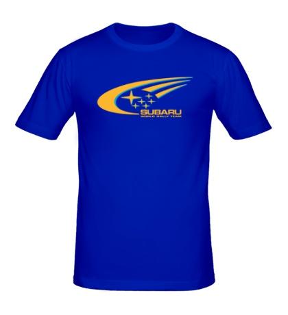Мужская футболка Subaru World Rally
