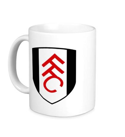 Керамическая кружка FC Fulham Emblem