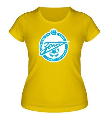 Женская футболка FC Zenit Emblem