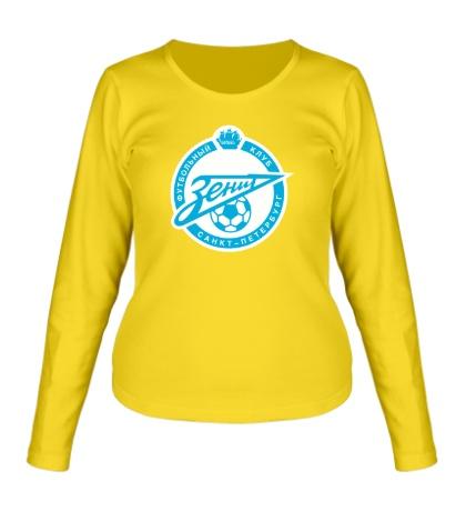 Женский лонгслив FC Zenit Emblem
