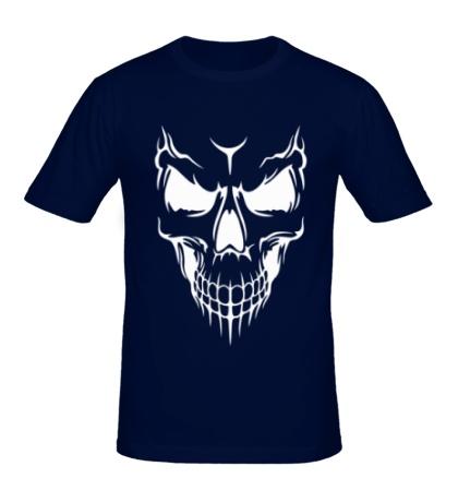 Мужская футболка Череп демона