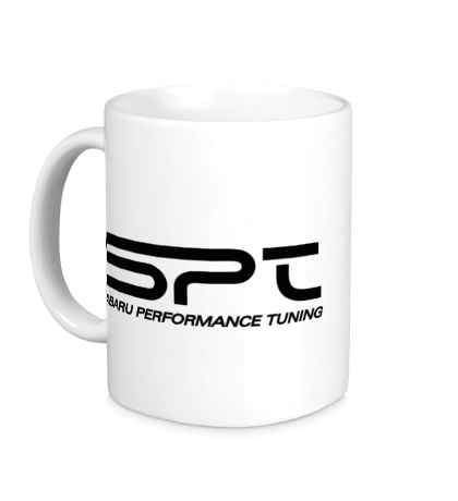 Керамическая кружка Subaru SPT