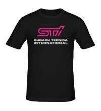 Мужская футболка STI