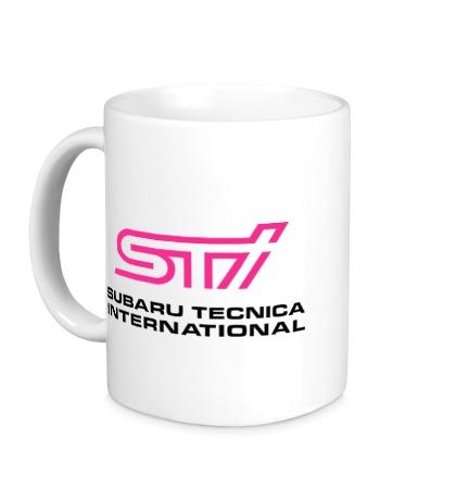 Керамическая кружка STI