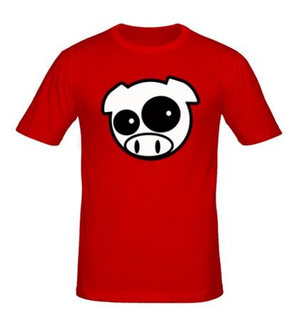 Мужская футболка Subaru Pig