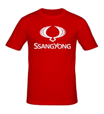 Мужская футболка Ssangyong
