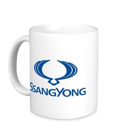 Керамическая кружка Ssangyong