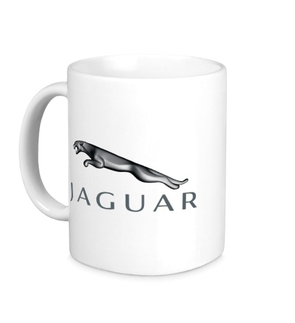 Керамическая кружка Jaguar