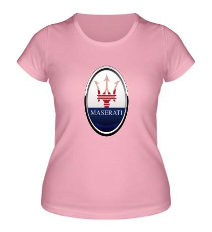 Женская футболка Maserati