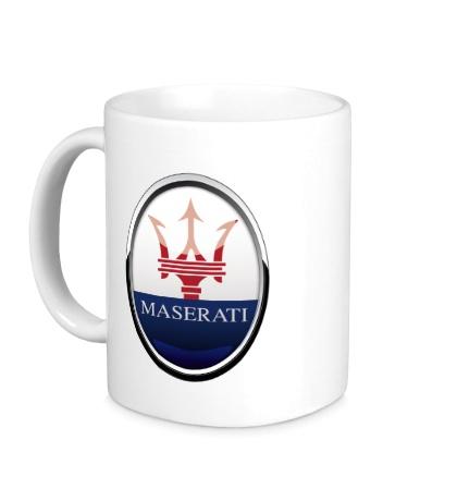 Керамическая кружка Maserati