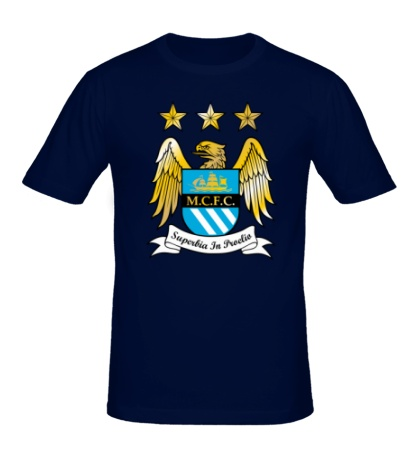 Мужская футболка FC Manchester City Emblem