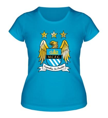 Женская футболка FC Manchester City Emblem