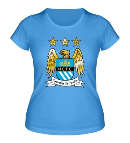 Женская футболка «FC Manchester City Emblem»