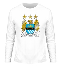 Мужской лонгслив FC Manchester City Emblem