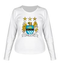 Женский лонгслив FC Manchester City Emblem