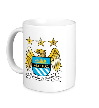 Керамическая кружка FC Manchester City Emblem