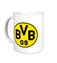 Керамическая кружка FC Borussia Dortmund Emblem
