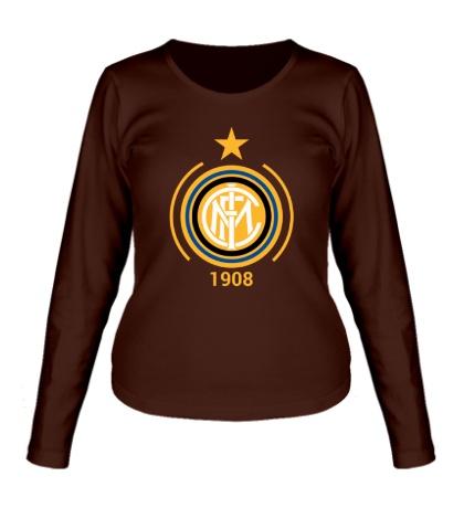 Женский лонгслив FC Inter Emblem