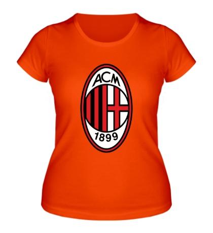 Женская футболка FC Milan Emblem