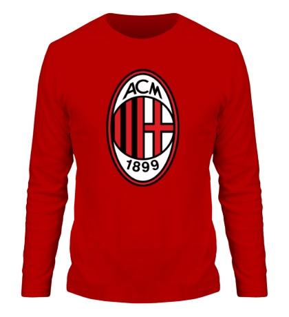 Мужской лонгслив FC Milan Emblem