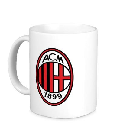 Керамическая кружка FC Milan Emblem
