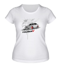 Женская футболка Toyota Mark Tourer V