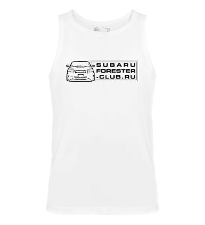 Мужская майка Subaru Forester Club