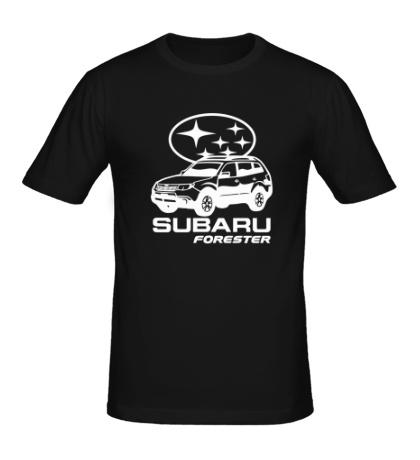 Мужская футболка SUBARU Forester