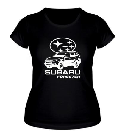 Женская футболка SUBARU Forester