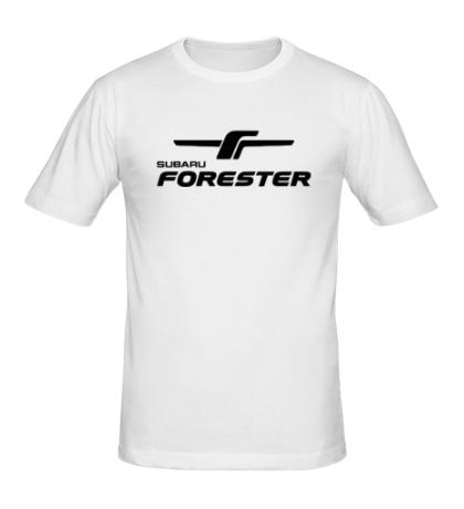 Мужская футболка Subaru Forester Sign