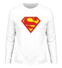 Мужской лонгслив Супермен