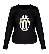 Женский лонгслив FC Juventus Emblem